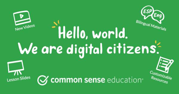 Digital Citizenship Curriculum | Common Sense Education